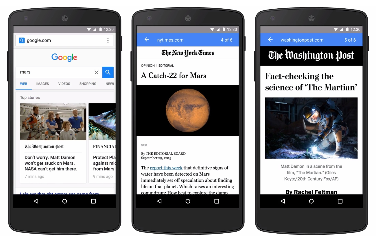 Google-AMP-pages