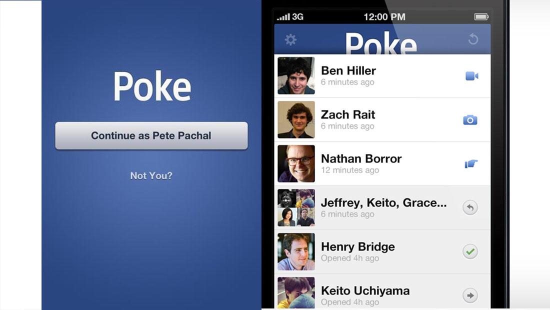 Facebok Poke