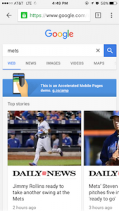 google-amp-view